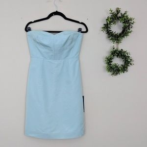 NWT J.Crew Rory Strapless Dress Classic Faille